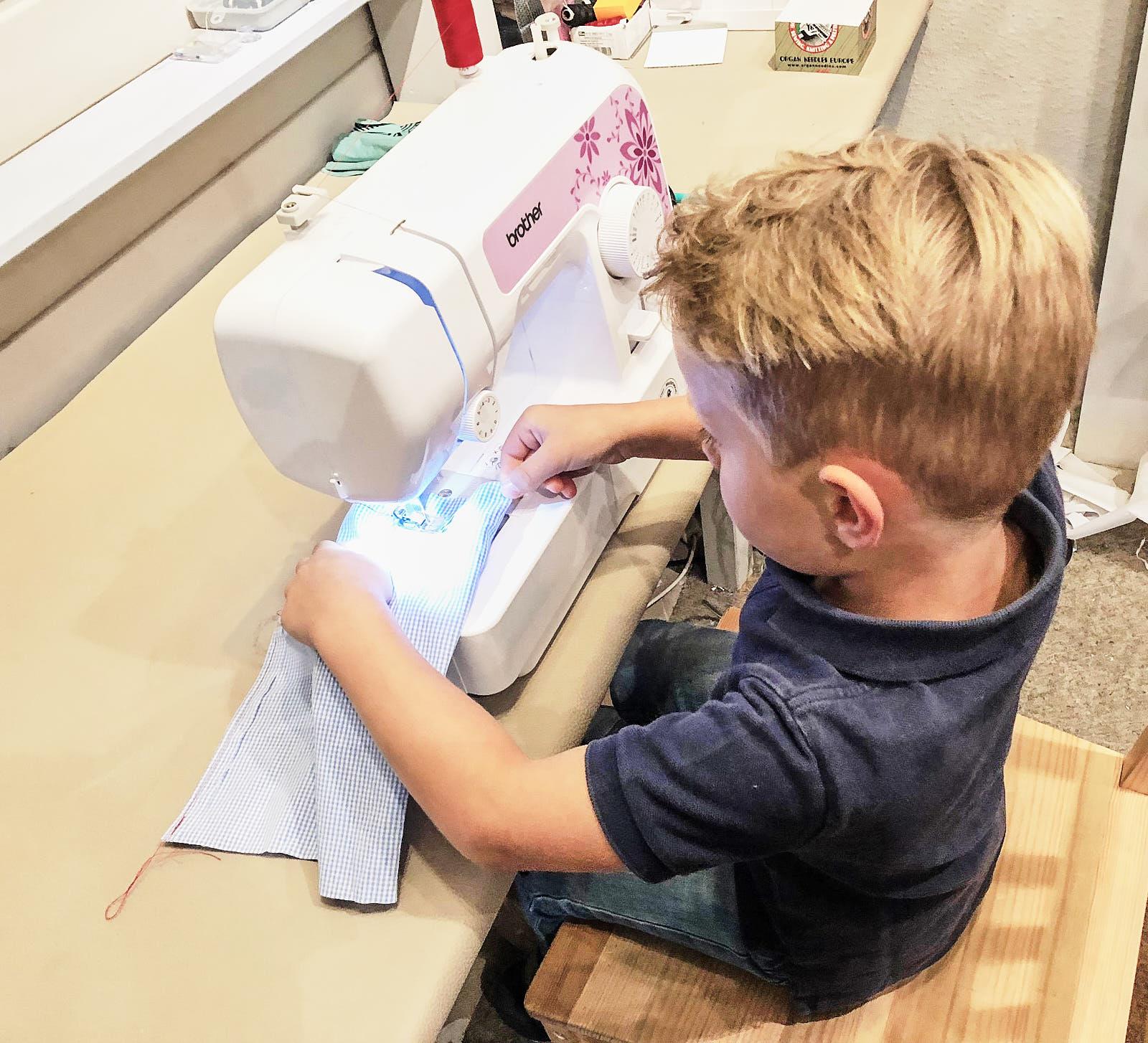 Brother J17s – Kindernähmaschine