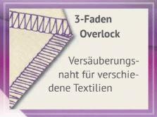 3 Faden Overlock babylock