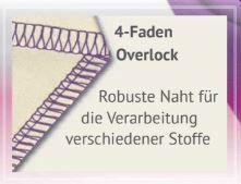4 Faden Overlock babylock